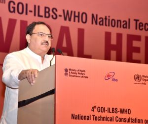 4th National Technical Consultation on Viral Hepatitis- J.P. Nadda