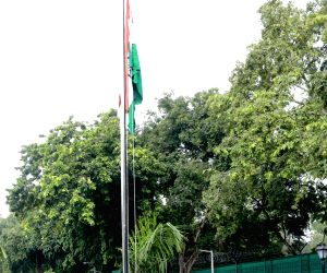 Amit Shah hoists the tricolor on 74th Independence Day