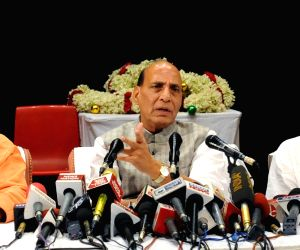Rajnath Singh's press conference