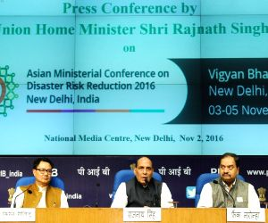 Rajnath Singh's press conference on AMCDRR 2016