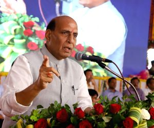Rajnath Singh launches various projects in Diu