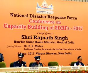 Rajnath Singh inaugurates National Level Conference on Capacity Building of SDRF-2017