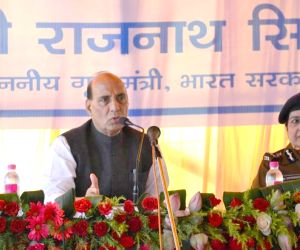 Rajnath Singh during his visit to Sikkim