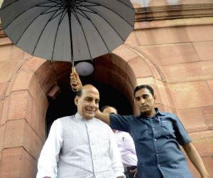 New Delhi: Parliament - Monsoon session