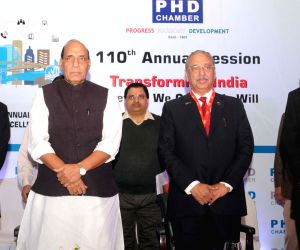 Rajnath inaugurates the 110th Annual Session of the PHD Chamber and PHD Annual Awards for Excellence