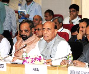 Rajnath Singh reviews Left Wing Extremism (LWE) situation