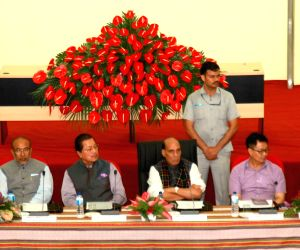 Rajnath Singh chairs a review meet on Indo-Myanmar border issues