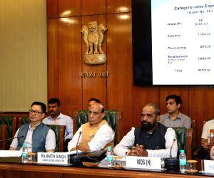 Review meeting - Rajnath Singh
