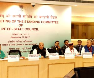 Rajnath Singh chairs Inter-State Council meet