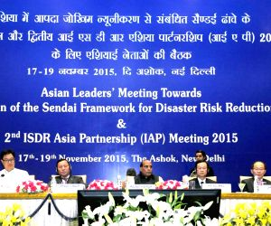 Rajnath Singh Inaugural Session of the Asian Leaders' Meeting towards Implementation of the Sendai Framework