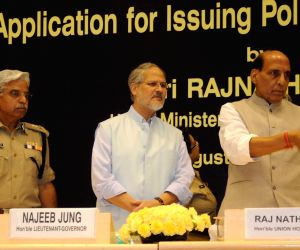 Rajnath Singh launches Delhi Police's web application