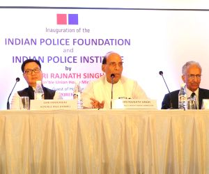 Rajnath Singh inaugurates Indian Police Foundation and Indian Police Institute