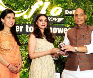 Young Women Achievers Awards - Rajnath Singh,  Aditi Rao Hydari