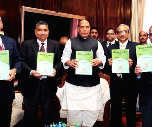 Rajnath Singh releases 'Crime in India – 2016' report