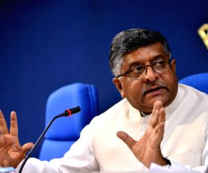 Ravi Shankar Prasad's press conference