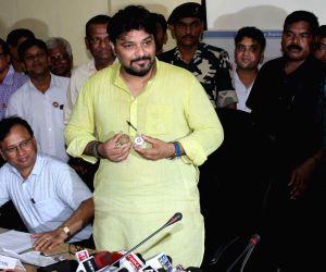 Babul Supriyo's press conference