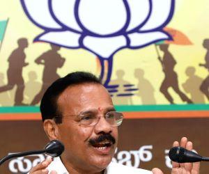 D.V. Sadananda Gowda's press conference