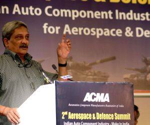 2nd Aerospace and Defence Summit  - Manohar Parrikar