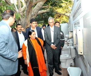 Uma Bharti inaugurates Sanitation Park