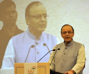 Arun Jaitley released commemorative postal stamp to celebrate 140 successful years of BSE