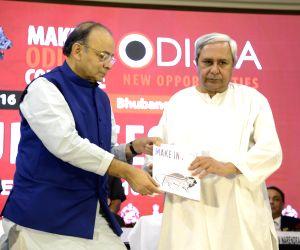 "Make in Odisha"" conclave - Arun Jaitley, Naveen Patnaik"