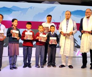 Arun Jaitley launches Axis Bank CSR project for upgradation of 100 schools in Leh, Kargil
