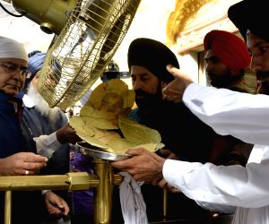 Arun Jaitley and Punjab CM at Golden Temple