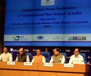 Jaitley's press conference regarding IFFI
