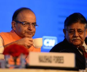 Jaitley addresses at CII Annual Session