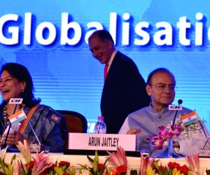 Arun Jaitley delivering inaugural address at CII Annual Session