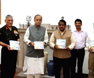 Arun Jaitley unveils the compilation of the contribution of DRDO