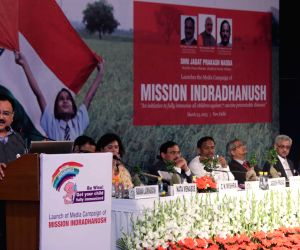Nadda launches Media Campaign of 'Mission Indradhanush'