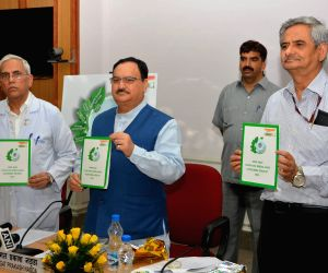 """Nadda launches the """"Clean and Green AIIMS campaign"""""""