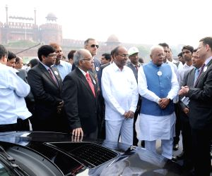 '3-Cities' FAME India Eco Drive' - flagging-off ceremony