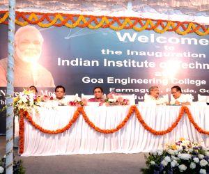 Parrikar, Javadekar inaugurated the IIT Goa campus