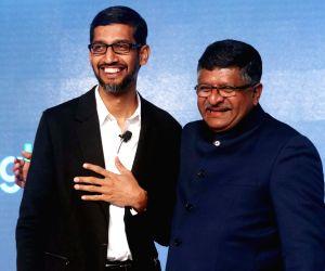 "Sundar Pichai launches ""Digital Unlocked"