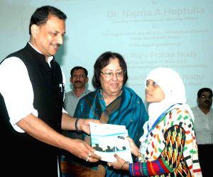 Najma Heptullah during a programme