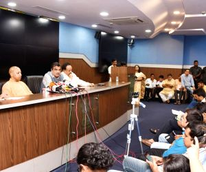 High level inter ministerial meeting on the Taj Mahal - press conference