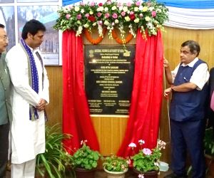 Nitin Gadkari inaugurates Jowai-Ratacherra Section of NH-06 in Meghalaya
