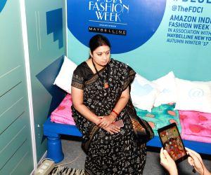 Amazon India Fashion Week - Smriti Irani, Sunil Sethi, Anju Modi