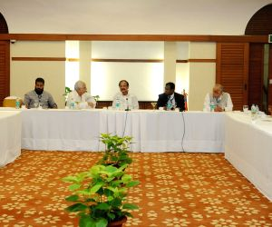 Union Minister Venkaiah Naidu meets film industry representatives