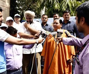 Uma Bharti inaugurates Swachh Bharat Pakhwada