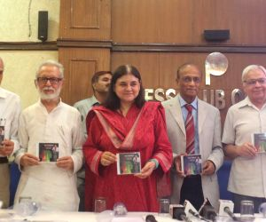 "Maneka Gandhi release CD of ""The Evidence - Meat Kills"