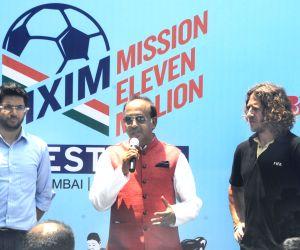 Vijay Goyal inaugurates Mission XI Million Football Festival