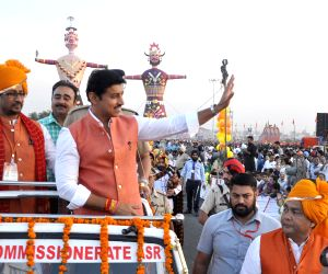 Dussehra celebrations - Rajyavardhan Singh Rathore