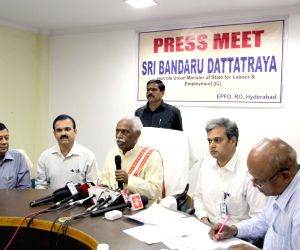 Bandaru Dattatreya's press conference