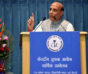11th Annual Convention of Central Information Commission - Rajnath Singh
