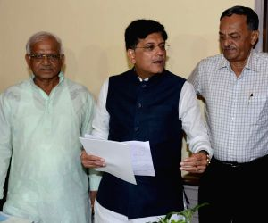 Piyush Goyal during a programme