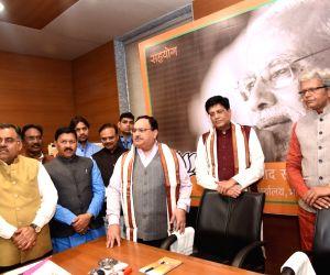 JP Nadda, Piyush Goyal inaugurate BJP Sahyog Programme