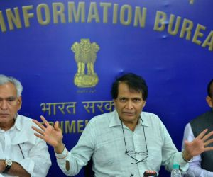 Suresh Prabhu press conference